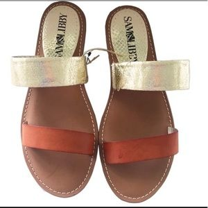 Sam & Libby Toni slide sandals size 6 1/2